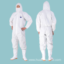 Disposable Protective Clothing Coverall Protective Suit